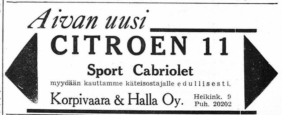11Cabriolet_HelsinginSanomat1939