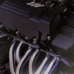 Moottorissa on 200 hv.