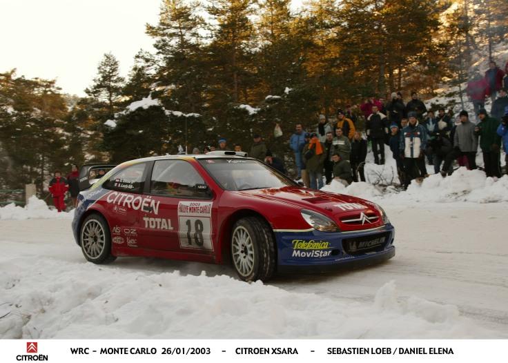 Rallye Monte Carlo 2003 - AG