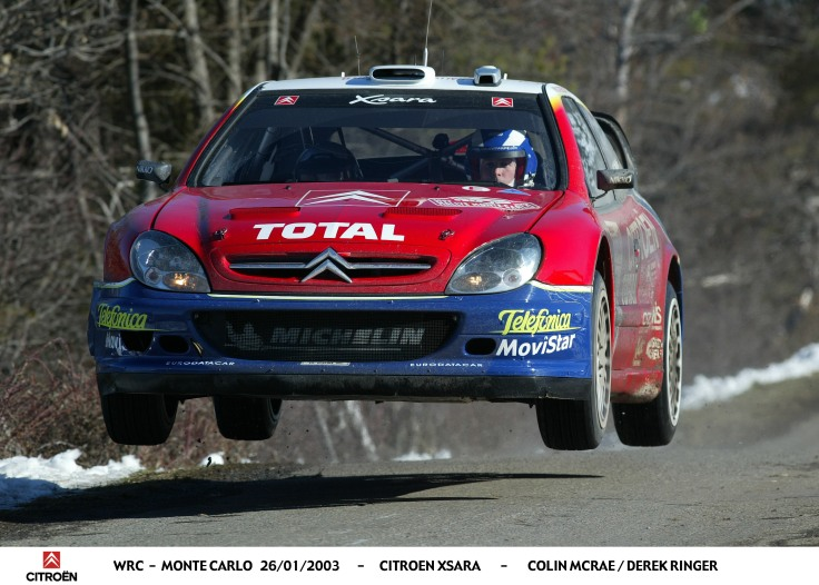 Rallye Monte Carlo 2003 - CS