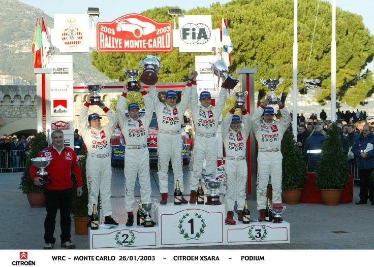 Rallye Monte Carlo 2003 - FB